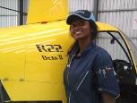 Maria Hiwilepo (Helicopter CPL)